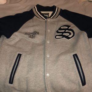 Stussy Men's M Letterman Jacket
